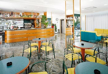 Il bar dell'hotel